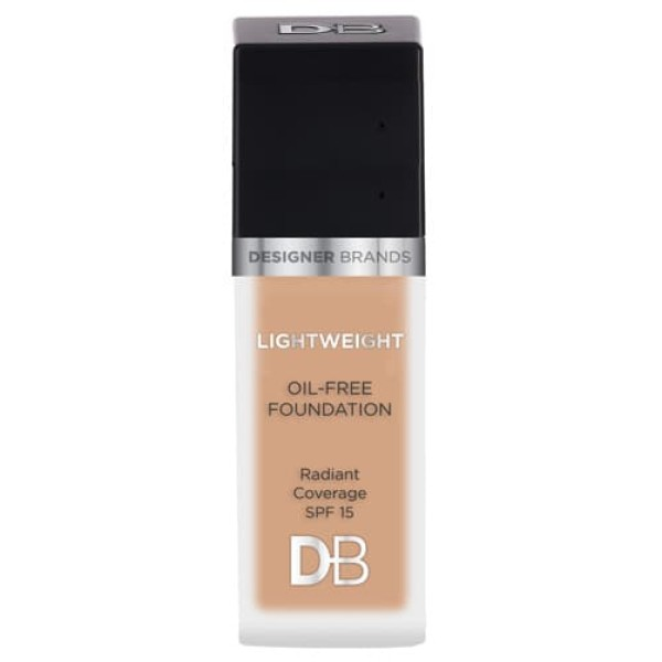 Designer Brands Lightweight Oil Free Foundation Warm Honey