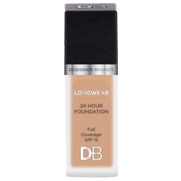 Designer Brands Longwear 24 Hour Foundation 30ml Nude Beige