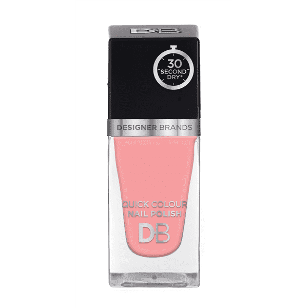 Designer Brands Quick Colour Nail Polish 15.5ml Ballerina Pink