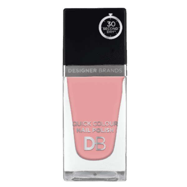 Designer Brands Quick Colour Nail Polish 15.5ml French Pink