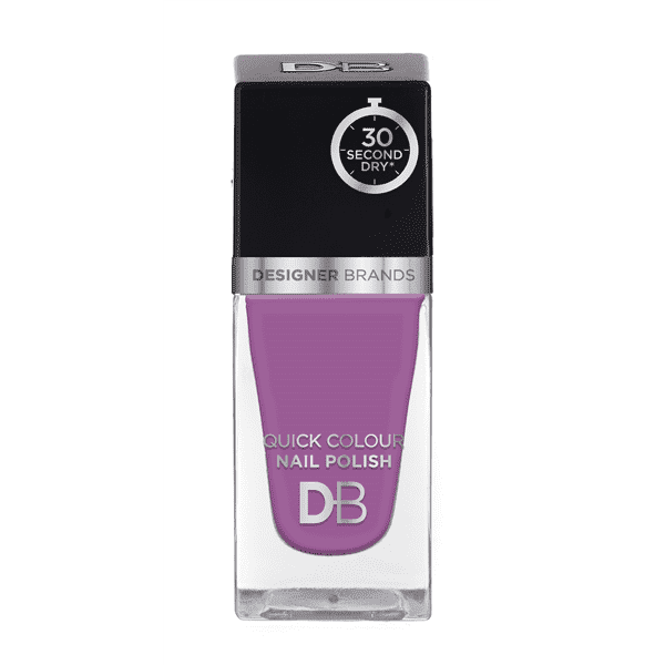 Designer Brands Quick Colour Nail Polish 15.5ml Lavender