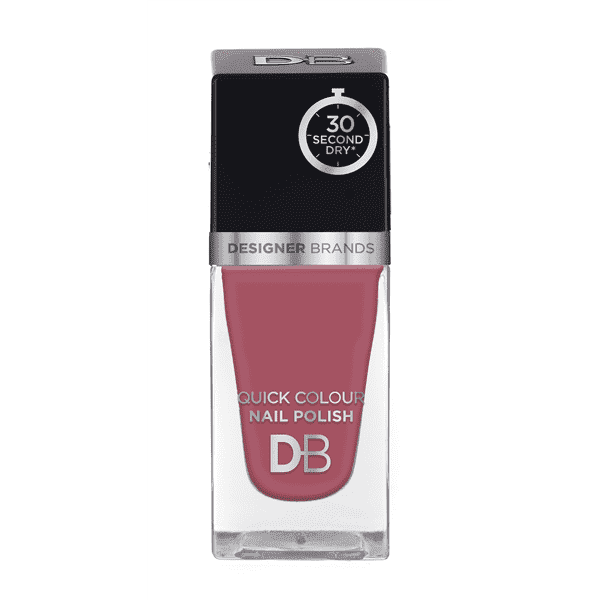 Designer Brands Quick Colour Nail Polish 15.5ml Mauve Delight