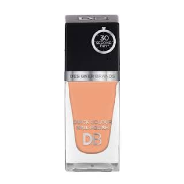 Designer Brands Quick Colour Nail Polish 15.5ml Pearl Beige