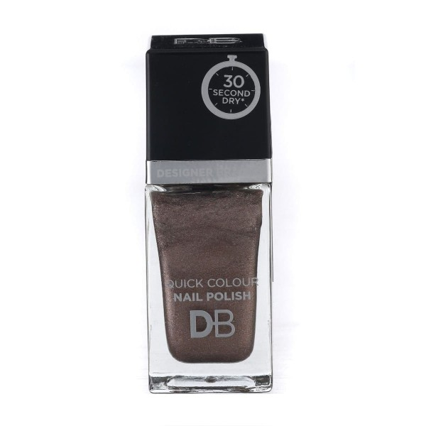 Designer Brands Quick Colour Nail Polish 15.5ml Perfect Pewter