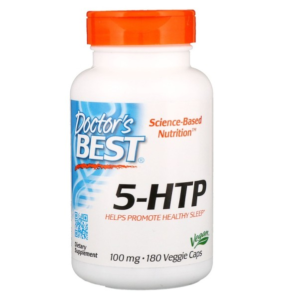Doctor's Best 5-HTP 100mg 180 Capsules