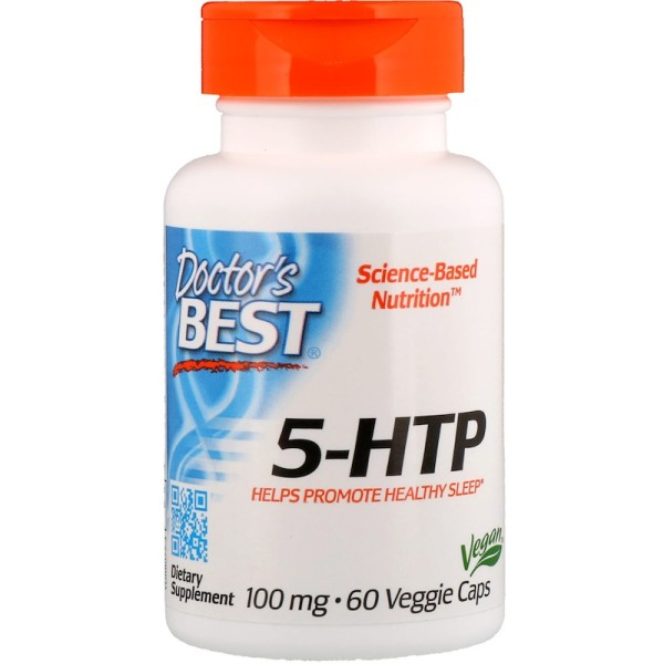 Doctor's Best 5-HTP 100mg 60 Capsules
