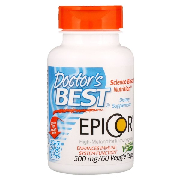 Doctor's Best Epicor 500mg 60 Capsules