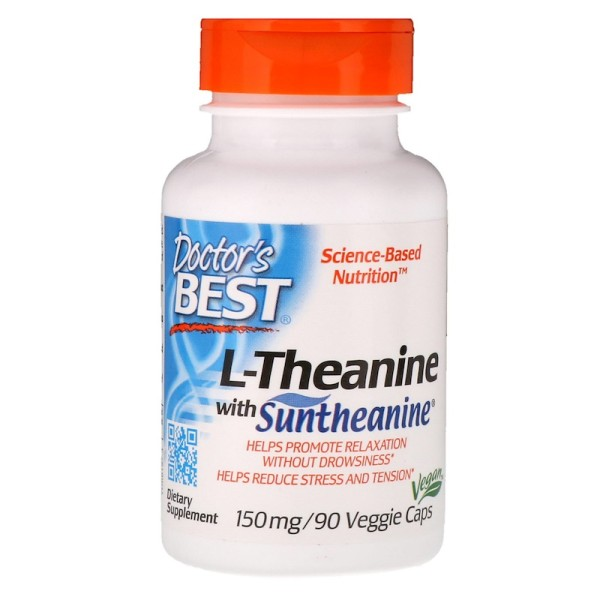 Doctor's Best L-Theanine with Suntheanine 150mg 90 Capsules