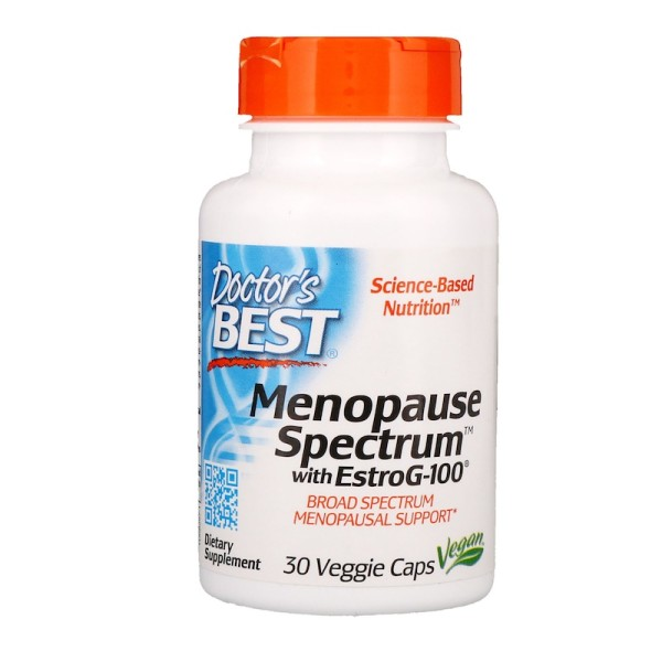 Doctor's Best Menopause Spectrum with EstroG 100 30 Capsules