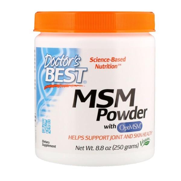 Doctor's Best MSM Powder with OptiMSM 250g