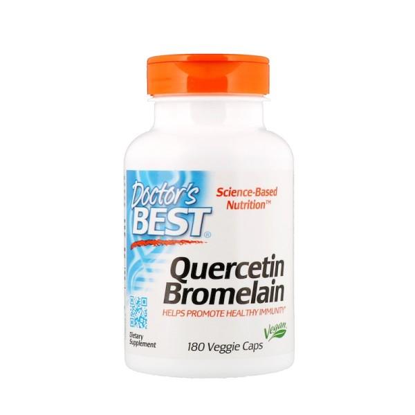 Doctor's Best Quercetin Bromelain 180 Capsules
