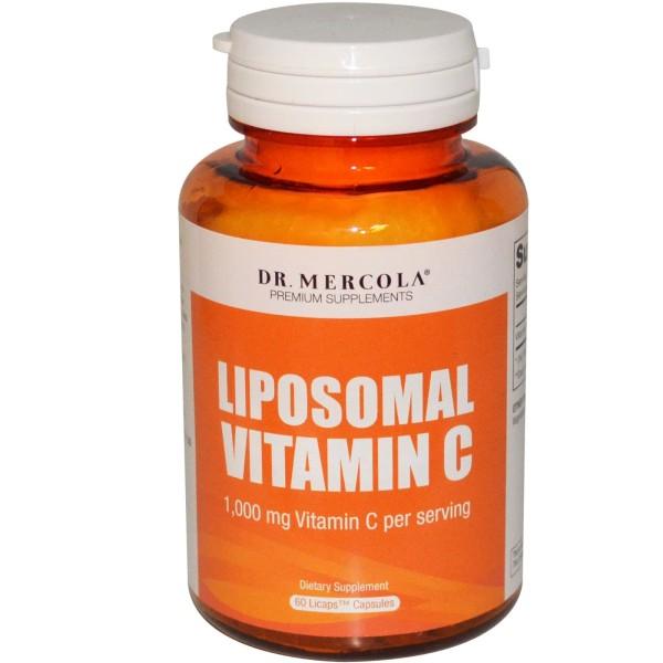 Dr. Mercola Liposomal Vitamin C 1000mg 60 Capsules