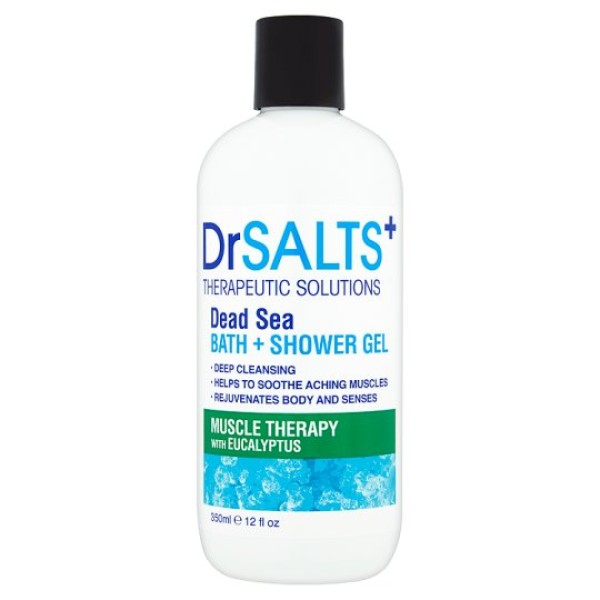 Dr Salts+ Muscle Therapy Bath & Shower Gel 350ml