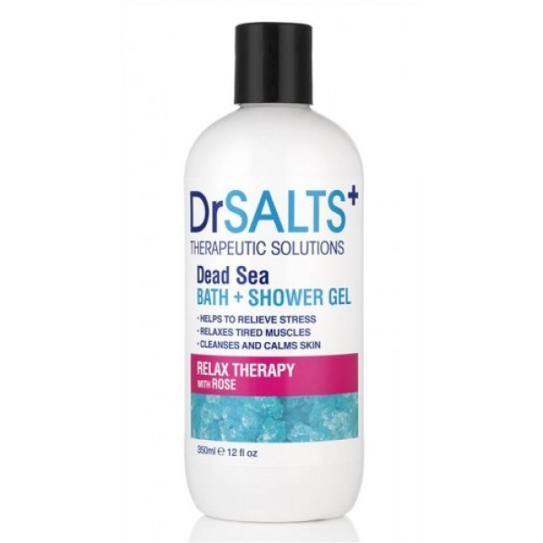 Dr Salts+ Relax Therapy Bath & Shower Gel 350ml