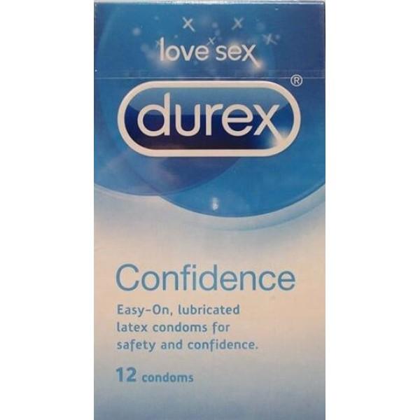 Durex Confidence Condoms 56mm Width 12s