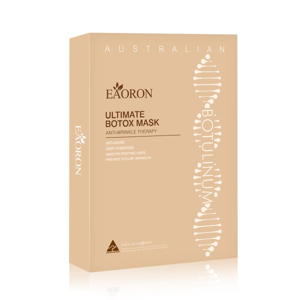 Eaoron Ultimate Botox Mask Anti-Wrinkle Therapy Face Mask Box Of 5