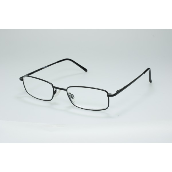 EasiReader Reading Glasses Fitgerald Black +2.00