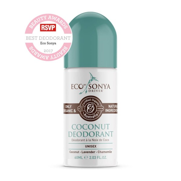 Eco by Sonya Driver Coconut Deodorant Roll On 60ml