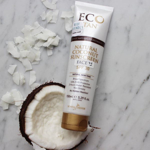 Eco Tan Natural Coconut Sunscreen SPF30 150ml