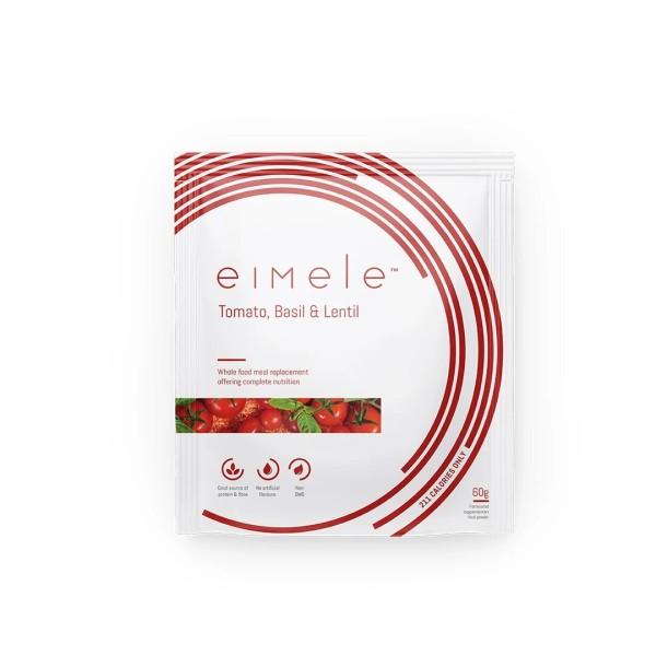 Eimele Tomato Basil & Lentil Soup 7 x 60g Sachets