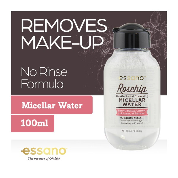 Essano Gentle Facial Cleansing Micellar Water Makeup Remover