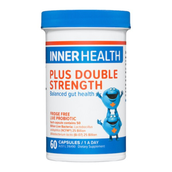 Inner Health Plus Probiotic Double Strength 60 Capsules