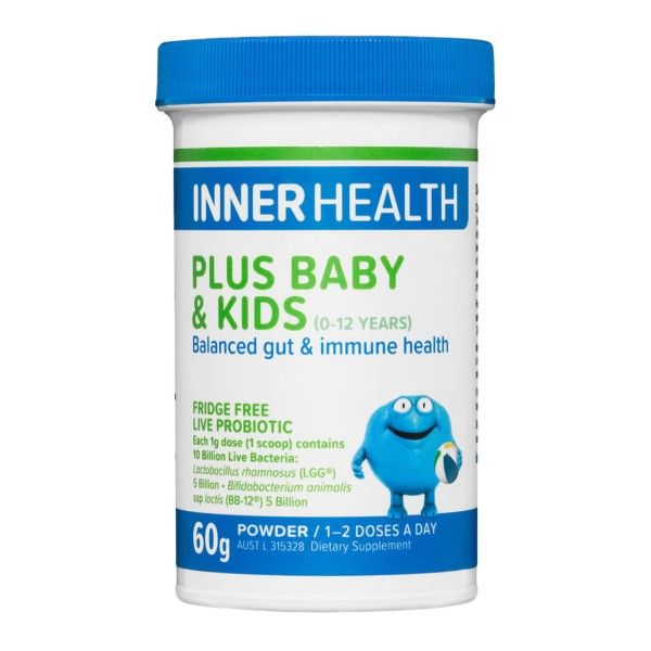 Inner Health Plus Probiotic Powder Baby & Kids 60g