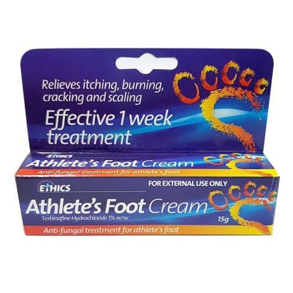 Ethics Athlete's Foot Antifungal Cream 15g
