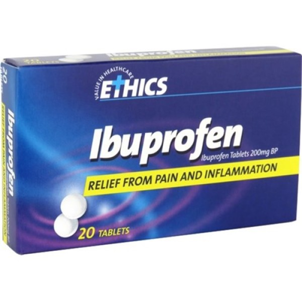 Ethics Ibuprofen 20 Tablets