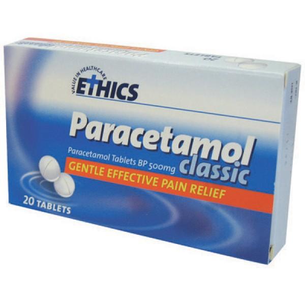 Ethics Paracetamol Classic 20 Tablets