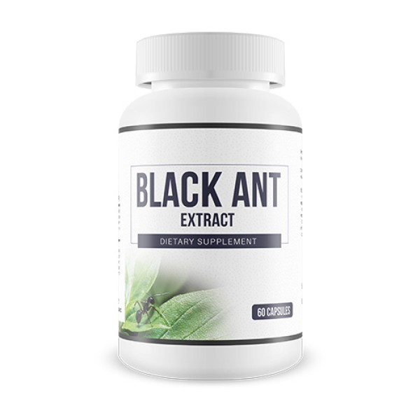 Everyday Health Black Ant Extract Qi Tonic 60 Capsules