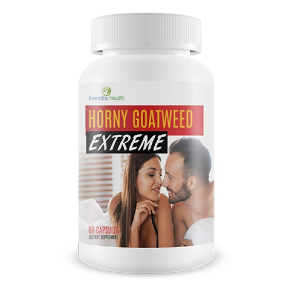 Everyday Health Horny Goat Weed Extreme Aphrodisiac Support 60 Capsules