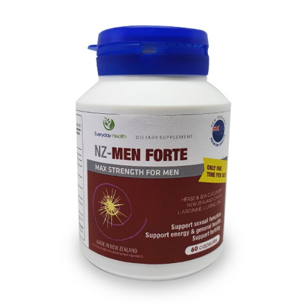 Everyday Health NZ-Men Forte Max Strength For Men 60 Capsules