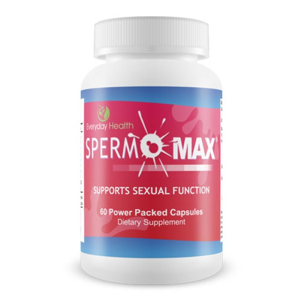 Everyday Health Spermomax Sexual Function Support 60 Capsules