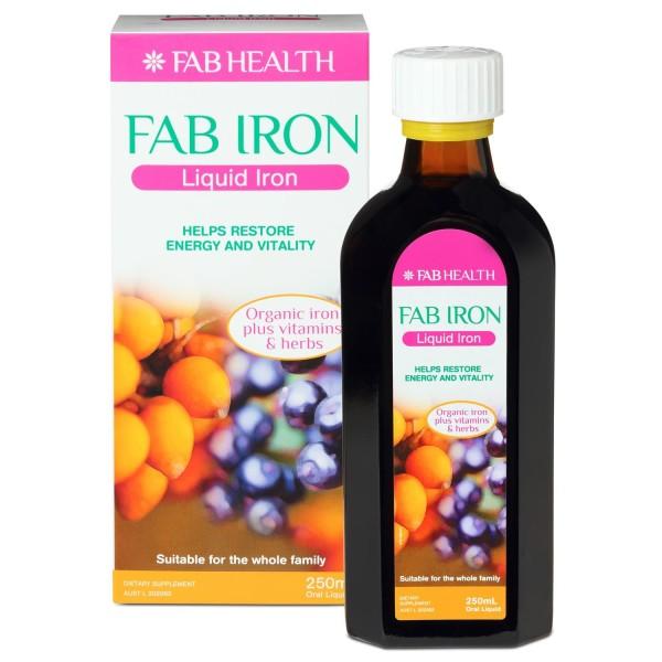 Fab Iron Liquid Iron 250ml