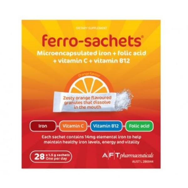 Ferro-Sachets Liposomal Iron 28x1.5g Sachets