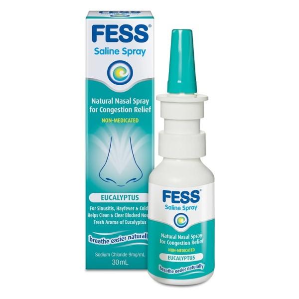 Fess Eucalyptus Nasal Saline Spray 30ml
