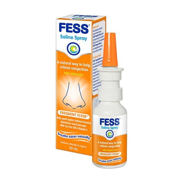 Fess Frequent Flyer Nasal Saline Spray 30ml