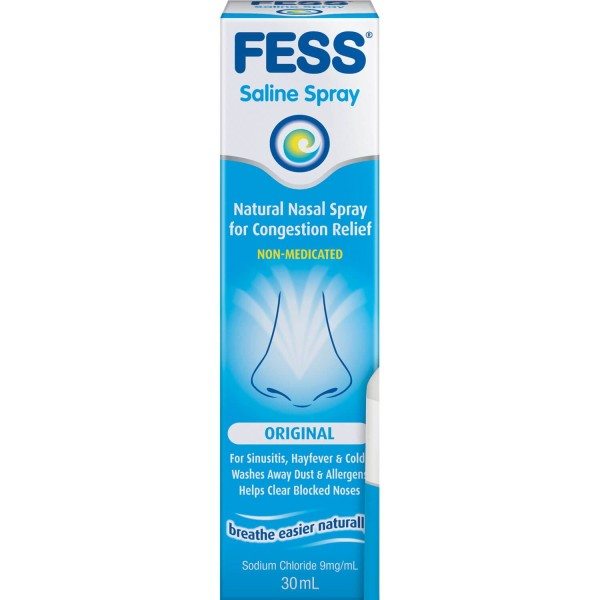 Fess Original Nasal Saline Spray 30ml