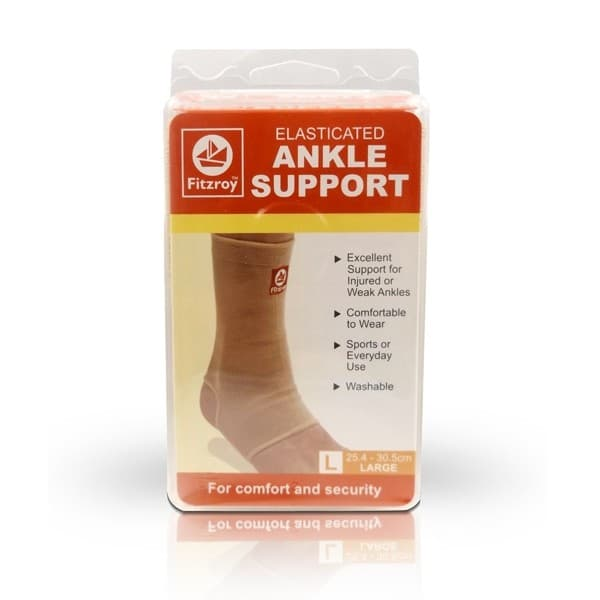 Fitzroy Elasticated Ankle Support Large