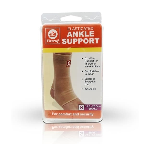 Fitzroy Elasticated Ankle Support Small