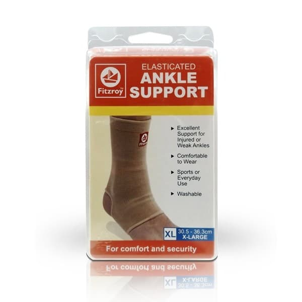 Fitzroy Elasticated Ankle Support X-Large