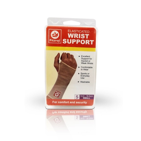 Fitzroy Elasticated Wrist Support Small