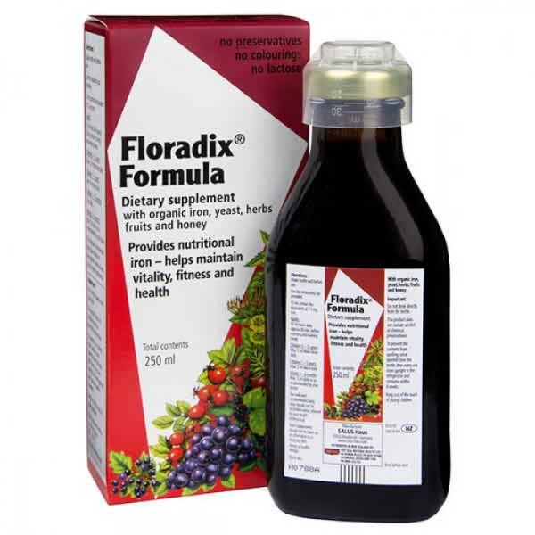 Floradix Iron & Vitamins 250ml Liquid