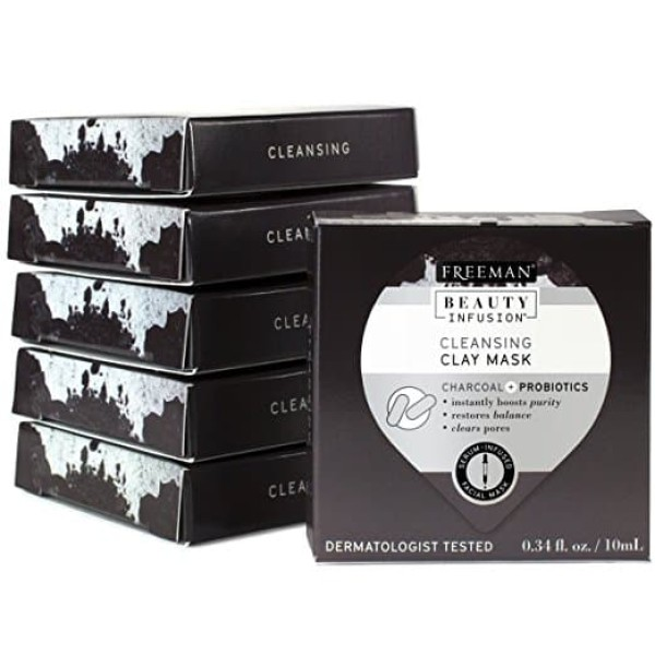 Freeman Beauty Infusion Charcoal Mask Pod 10ml