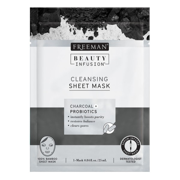 Freeman Beauty Infusion Charcoal Sheet Mask