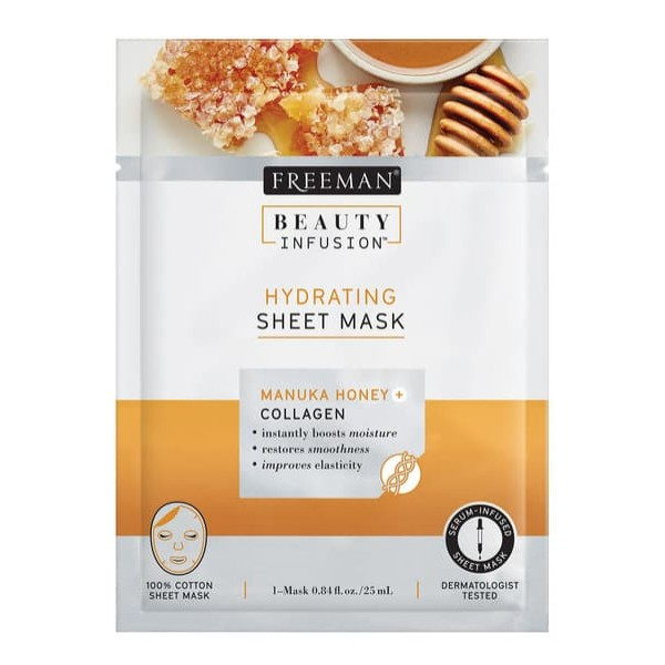 Freeman Beauty Infusion Honey + Collagen Sheet Mask