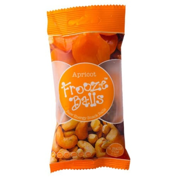 Frooze Balls Snack Bar 70g Apricot Flavour