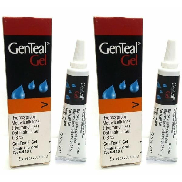Genteal Lubricating Eye Gel 0.3% 10g