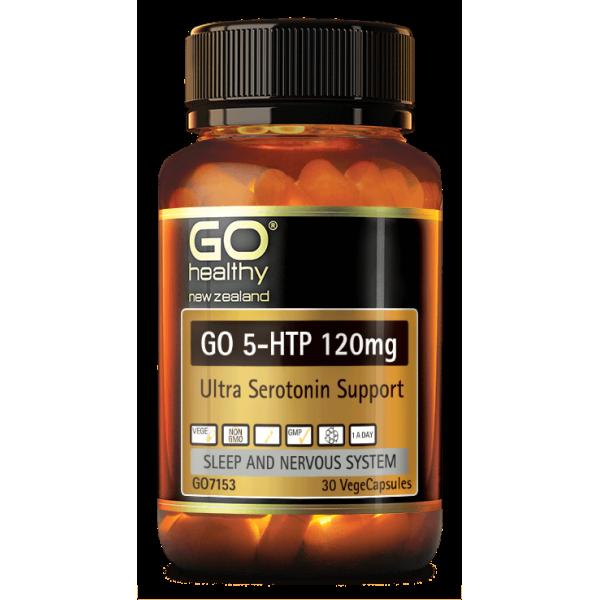 GO Healthy GO 5HTP 120mg 30 Capsules